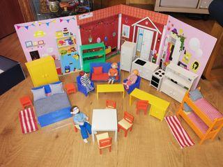 Muebles casa de muñecas Ikea