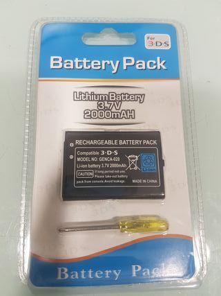 Bateria 3.7V 2000mAH para consola Nintendo 3DS