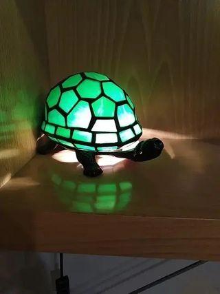 lámparas Tiffany con forma de tortuga