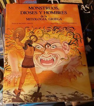 libro Infantil mitología griega nuevo