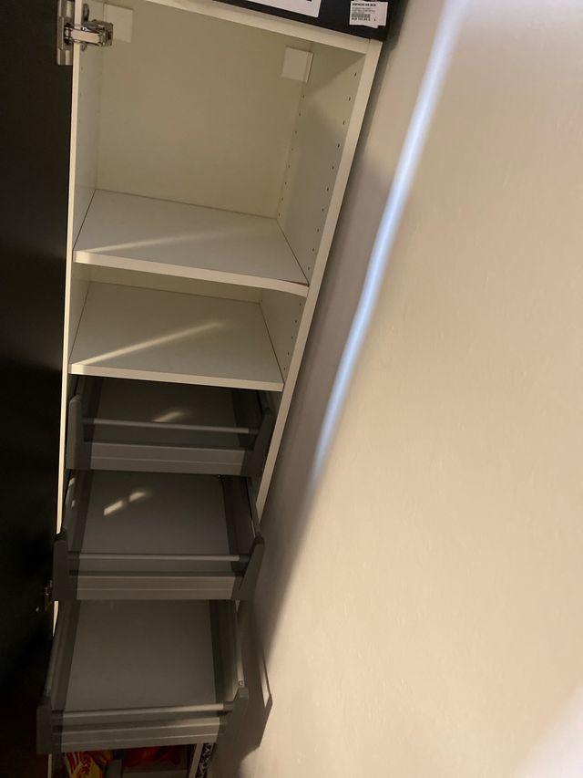 Armario almacenaje IKEA vertical