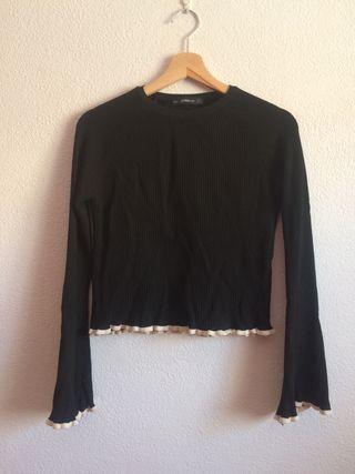 Jersey negro Zara