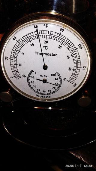 Termómetro higrometro