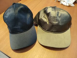 lote dos gorras nuevas