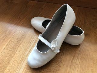 Zapatos de comunión niña talla 37