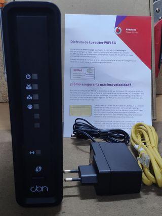Router Jazztel y Vodafone
