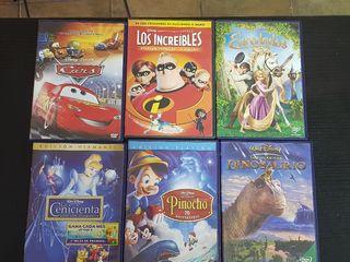 Lote de películas Disney