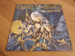DOBLE VINILO PRECINTADO IRON MAIDEN