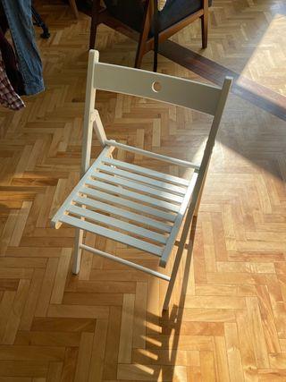 URGENTE silla blanca IKEA
