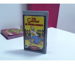 Los Simpson El Videojuego Juego Psp