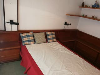dormitorio completo modular,buen somier