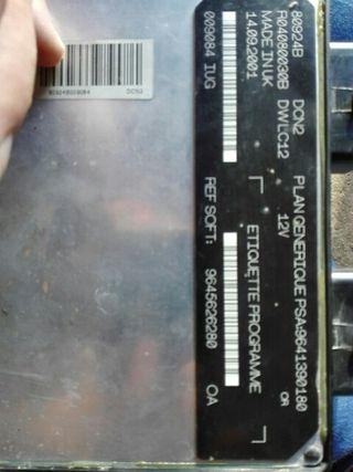 calculador de motor 1.9 psa