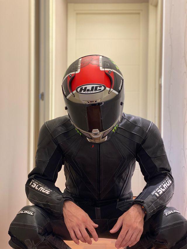 Mono de moto 2 piezas