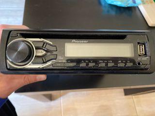 Radio cd pioneer con usb.altavoces jvc