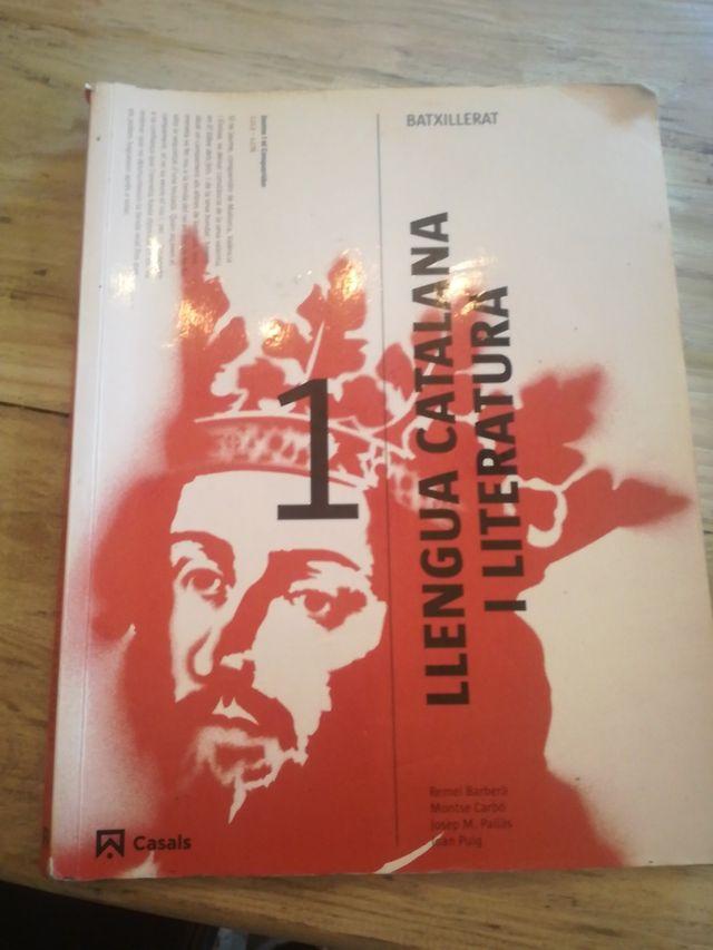 libro 1 bachillerato lengua catalana y literatura