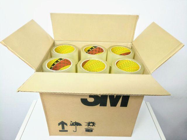Caja 36 rollos cinta adhesiva 3M