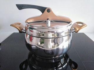 Olla presión Bergner, Infinity Chef, 6 litros
