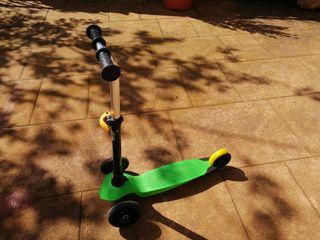 Patinete 3 ruedas decathlon para niño