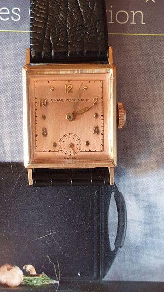 Reloj Girard Perregaux oro macizo 14 k