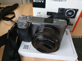 Camara Sony A6000 - ILCE 6000