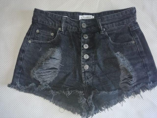 Pantalón corto de cintura alta, Pull and bear