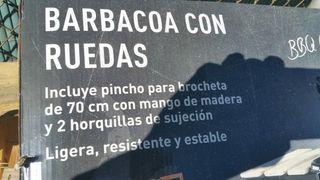 Barbacoa nueva portatil