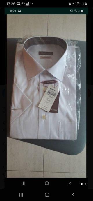 Camisa Emidio Tucci , manga corta talla 4