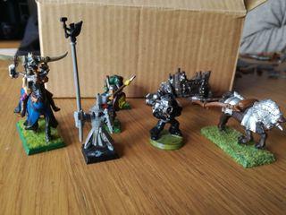 Warhammer varias miniaturas