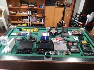 Colección de consolas y videojuegos