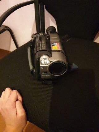 video cámara averiada