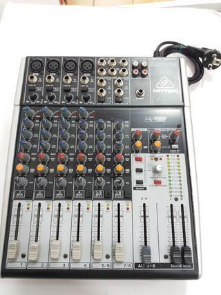Mesa de mezclas behringer xenyx 1204 usb