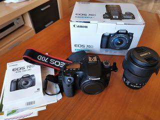 Canon EOS 70D + EFS 18-135 STM