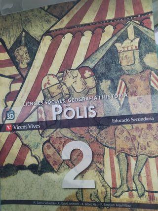 llibre de Ciències socials, Geografía i Historia