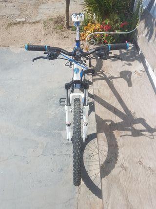 Bicicleta aluminio montaña