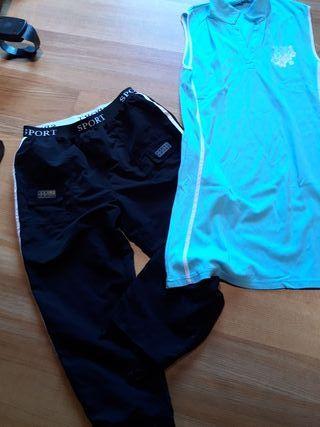 pantalon y vestido sport