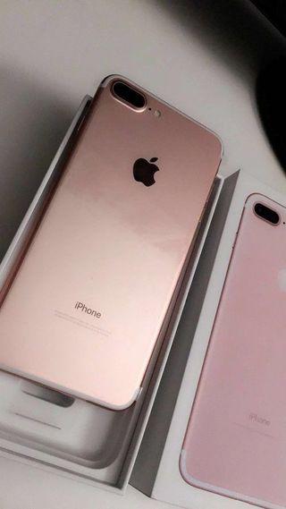 Iphone 7 plus rose gold 128gb, 350€