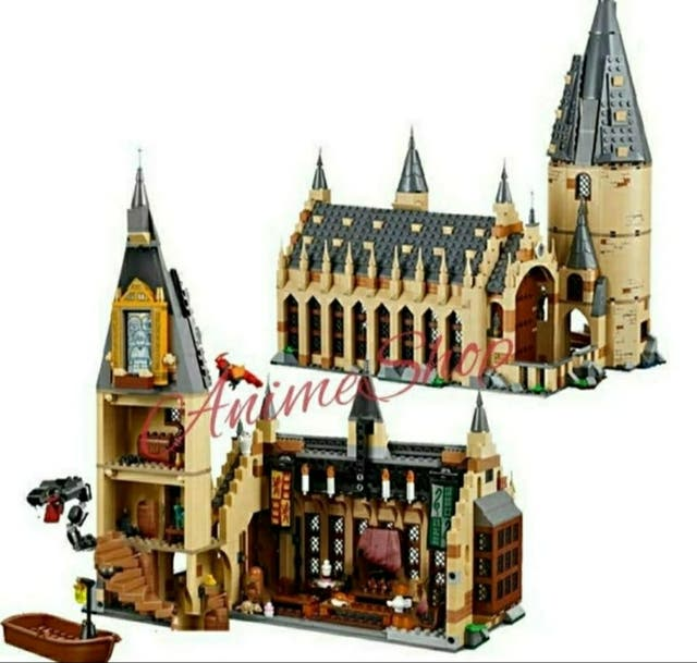 GRAN COMEDOR HOGWARTS COMPATIBLE LEGO HARRY POTTER