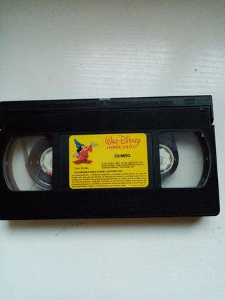 "Cinta VHS de Disney "" Dumbo"""