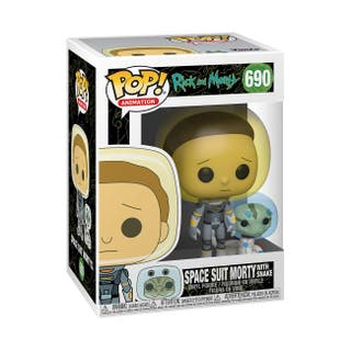 Funko POP! RICK AND MORTY - SPACE SUIT MORTY 690