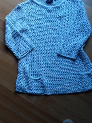 suéter calado
