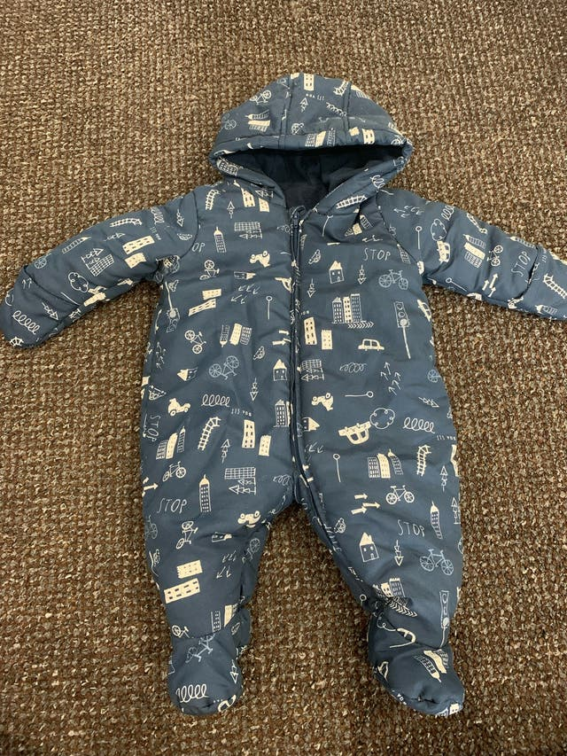 Mothercare Baby Boy Pram Suit - Up To 1 Month