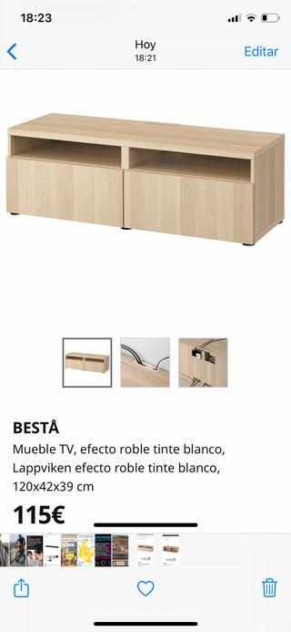 Muebles TV - coleccion BESTA de Ikea (2da mano)