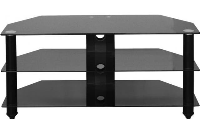 Brand new TV stand and bracket