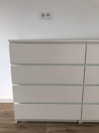 Cajonera MALM Ikea