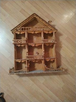 casa madera artesanal