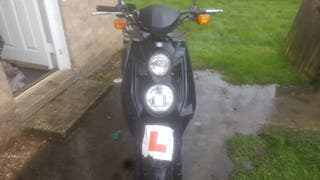 Yamaha bws 125cc Moped 2013