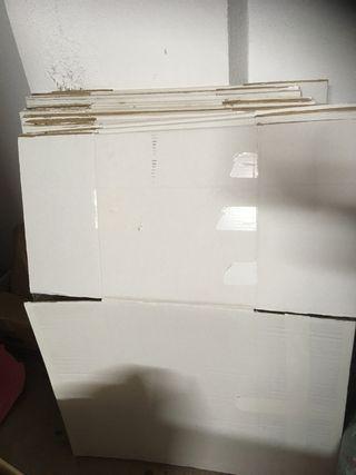 Cajas de cartón para mudanza de segunda mano