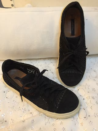 Sneakers piel Zara nun 37