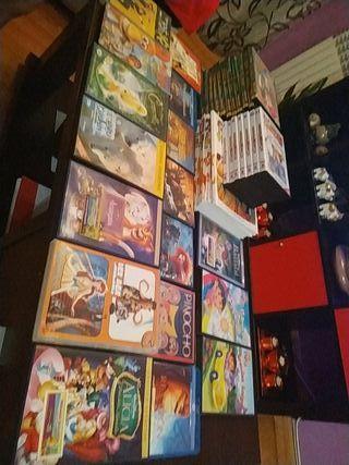 39 DVD niños +8 libros