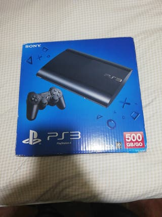 PS3 con JUEGOS y un mando